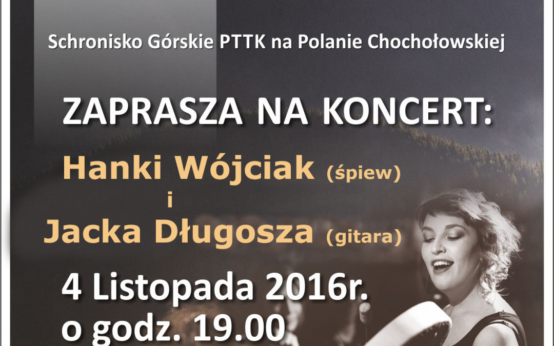 Koncert Hanki Wójciak i Jacka Długosza